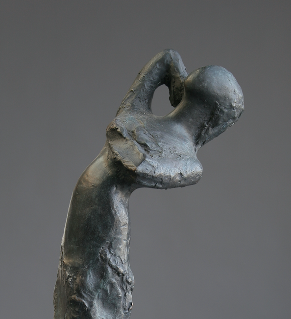 bronze sculpture of a dancer